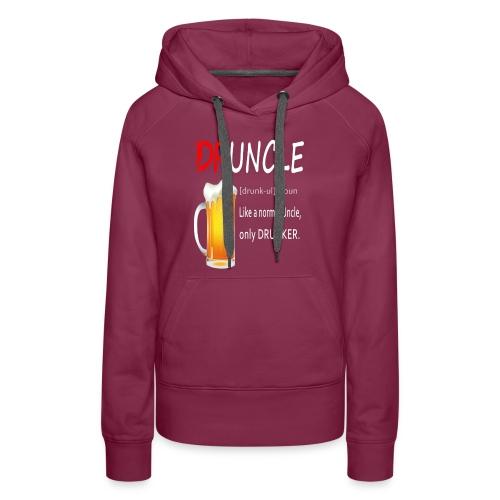 Druncle Beer T shirt Gift For Men - Women's Premium Hoodie