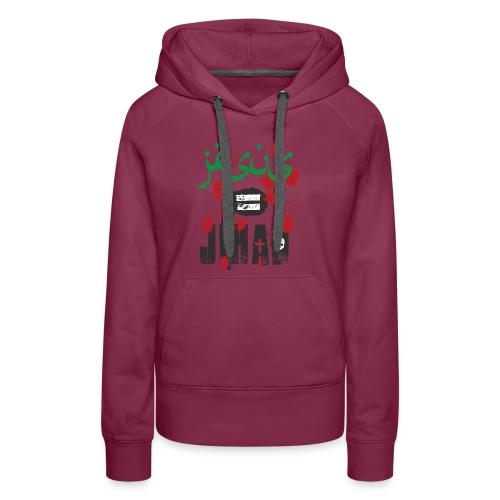 Jesus = jihad - Women's Premium Hoodie