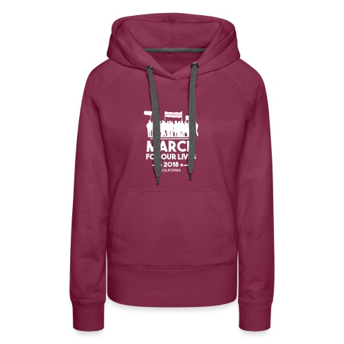 March For Our Lives 2018 T Shirts - Women's Premium Hoodie