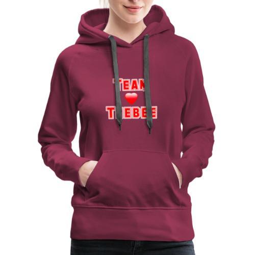 Love Team Teebee - Women's Premium Hoodie