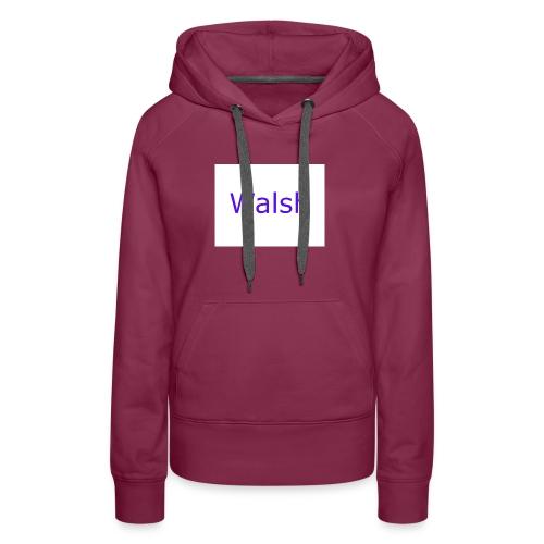 walsh - Women's Premium Hoodie