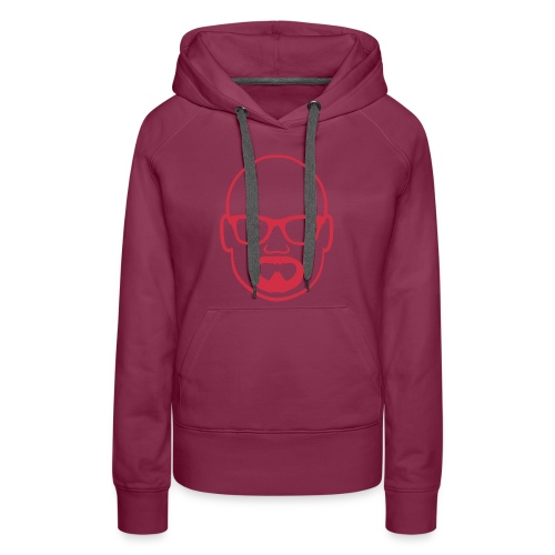 MDW Music official remix logo - Women's Premium Hoodie
