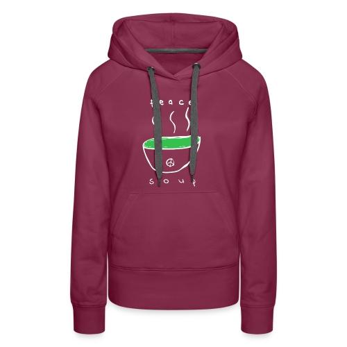 Peace Soup T-Shirt - Women's Premium Hoodie