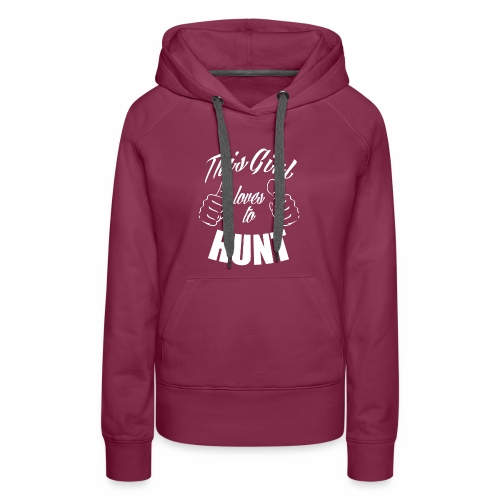 04 this girl loves to hunt - Women's Premium Hoodie