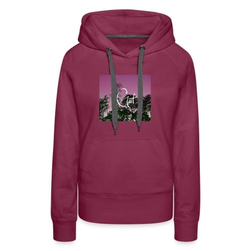 Pink Forest Gart - Women's Premium Hoodie