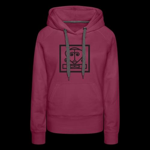IFE HTP (Logo BLK) - Women's Premium Hoodie