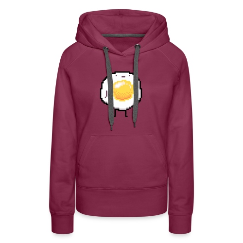 Sunny Side Up Standing Up Egg Funny - Women's Premium Hoodie