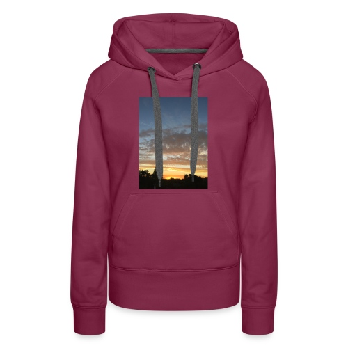 nuclear sunset - Women's Premium Hoodie