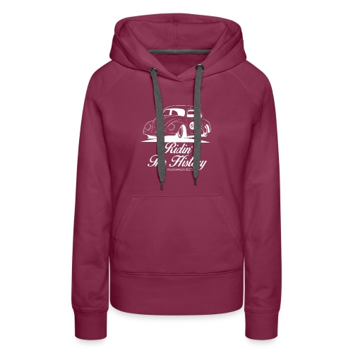 Beetle, Riding The History - Women's Premium Hoodie
