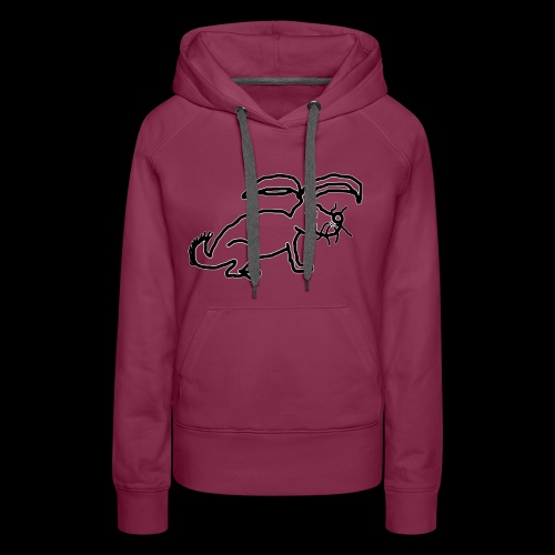 Rabbit Logo 1 - Women's Premium Hoodie