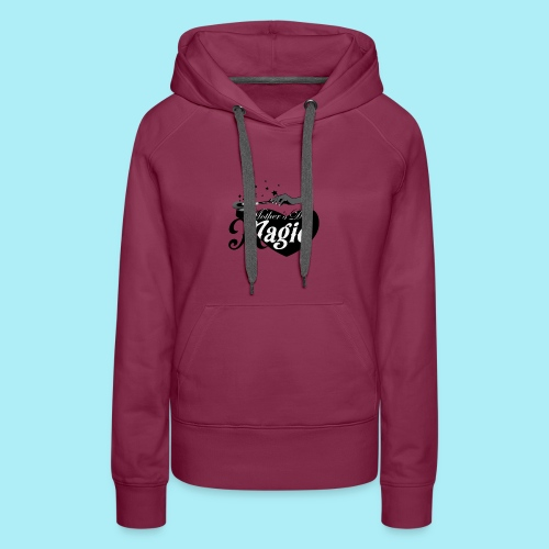African American Mother's Day Magic (Black Star) - Women's Premium Hoodie