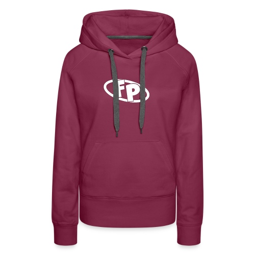 Secondary FRESHPOPCORN Logo - Women's Premium Hoodie