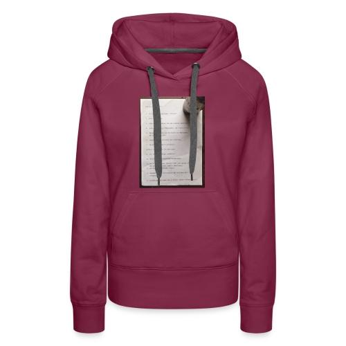 copywriting - Women's Premium Hoodie