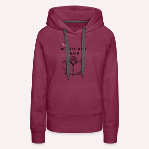 The stylish bookworm collection - Women's Premium Hoodie