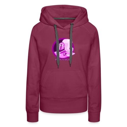 Pink Knight logoV2 - Women's Premium Hoodie