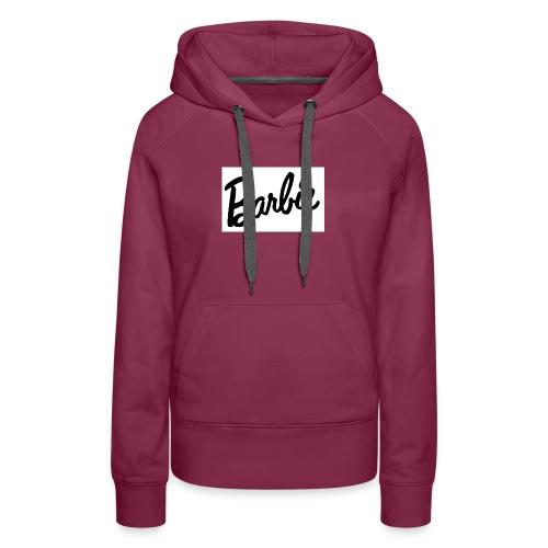 Barbie shirt - Women's Premium Hoodie