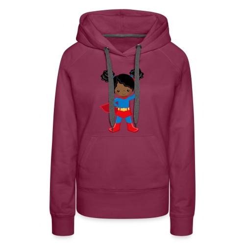 SUPER SIMONE - Women's Premium Hoodie