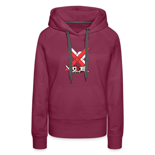 VXL Red Collection - Women's Premium Hoodie