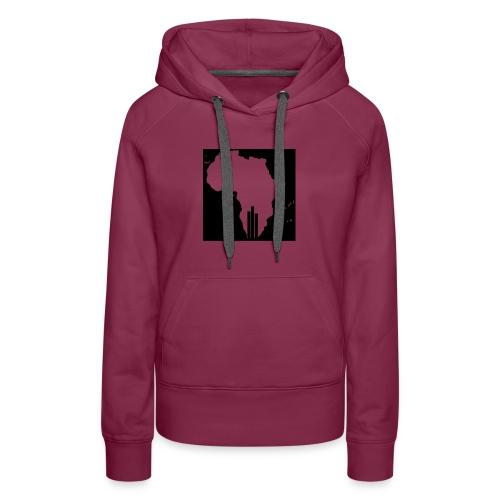 Tswa_Daar_Logo_Design - Women's Premium Hoodie