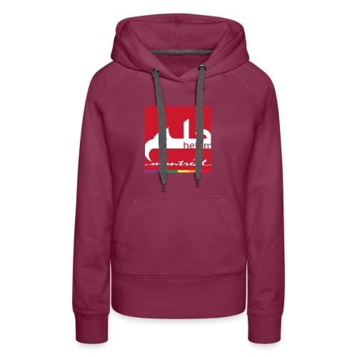 Helem Montreal Logo - Women's Premium Hoodie