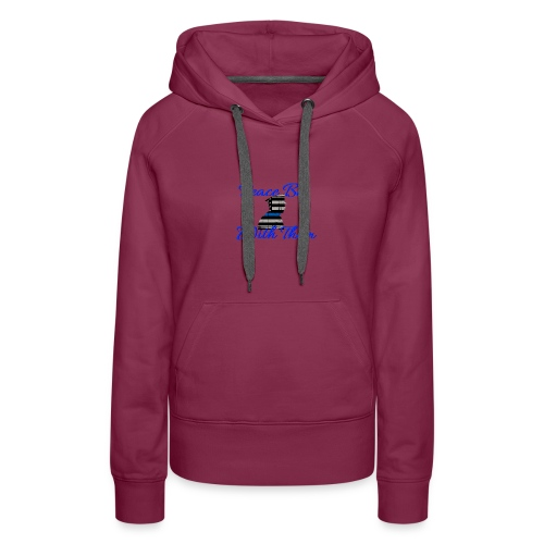 Peace Be With Them - Women's Premium Hoodie