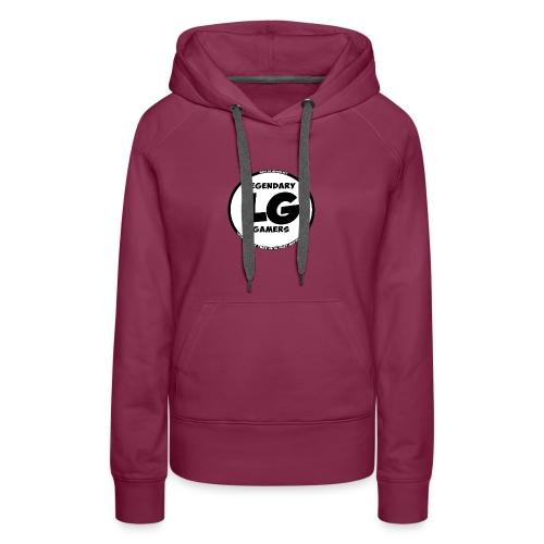 legendarygamers logo - Women's Premium Hoodie