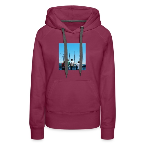 Mi Familia.and Heather - Women's Premium Hoodie
