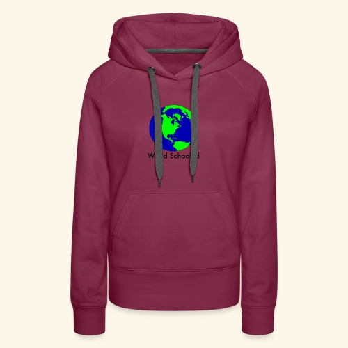 World Schooled - Women's Premium Hoodie
