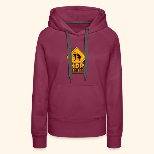 HDP Society Logo Full - Women's Premium Hoodie