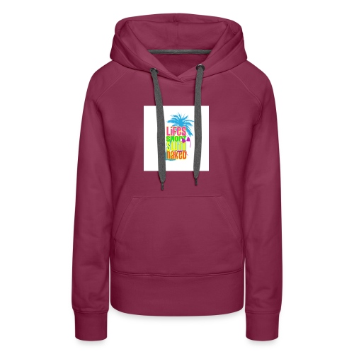 Help Support Beach Clean Up - Women's Premium Hoodie