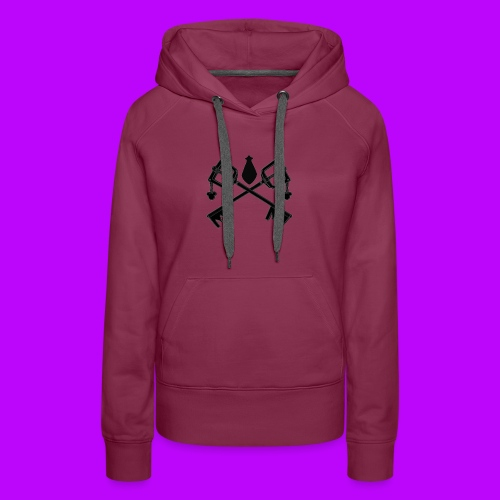 The Keyblades of Fate Inverted - Women's Premium Hoodie