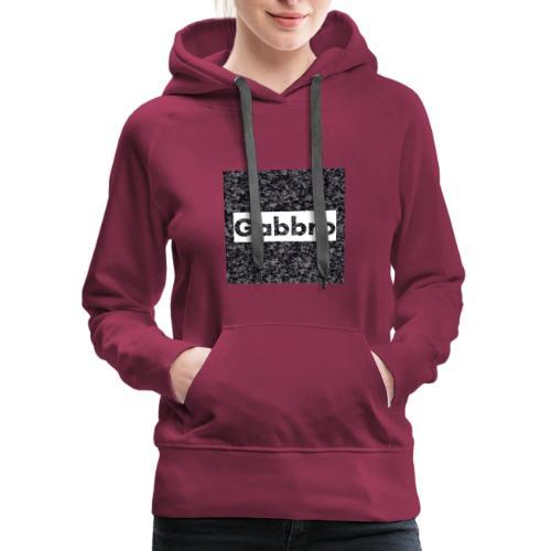 Gabbro Background - Women's Premium Hoodie