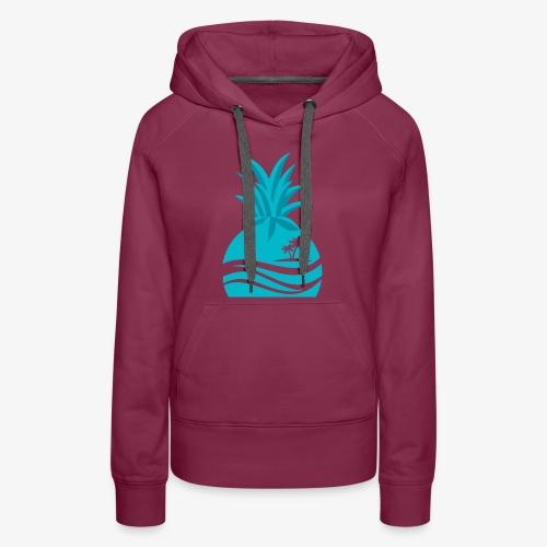 Island Pineapple - Women's Premium Hoodie