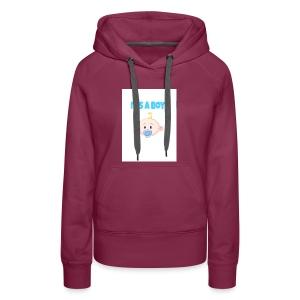 It-s_a_boy_tshirt - Women's Premium Hoodie