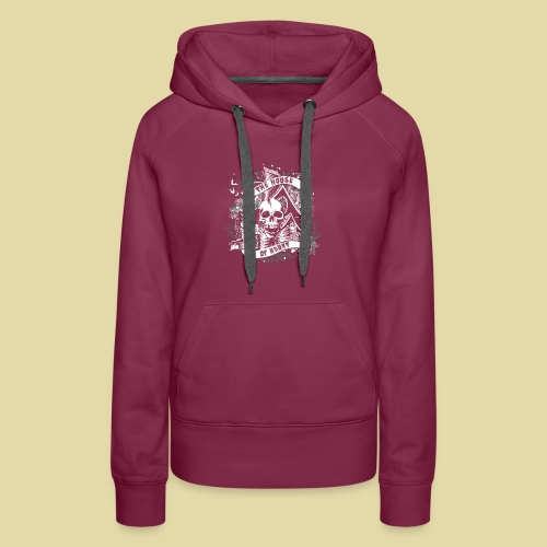 hoh_tshirt_skullhouse - Women's Premium Hoodie