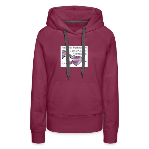 ASTCV Logo Colour on White - Women's Premium Hoodie