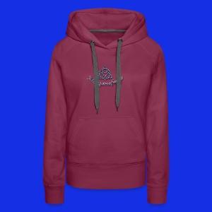 Morganafreya Celtic Knot Icon - Women's Premium Hoodie