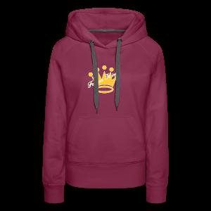 Fashion Kingz Clothing Official Crown Logo - Women's Premium Hoodie