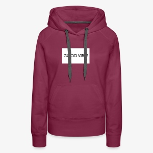 Rockos Co GOOD VIBES - Women's Premium Hoodie