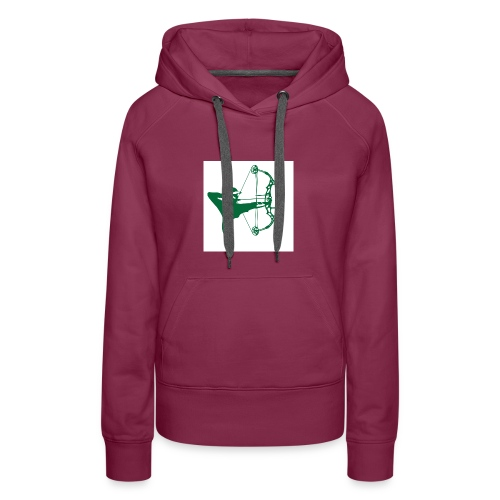 man with bow - Women's Premium Hoodie