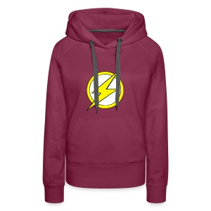 Kid Flash Logo - Second Channel - Women's Premium Hoodie