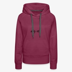 Why Not ? For pale shirt - Molleton à capuche Premium pour femmes