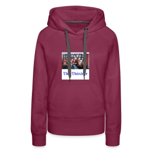 the thinker - Women's Premium Hoodie