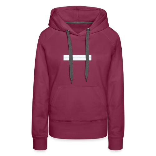 Blocked by Donald Trump on Twitter - Women's Premium Hoodie