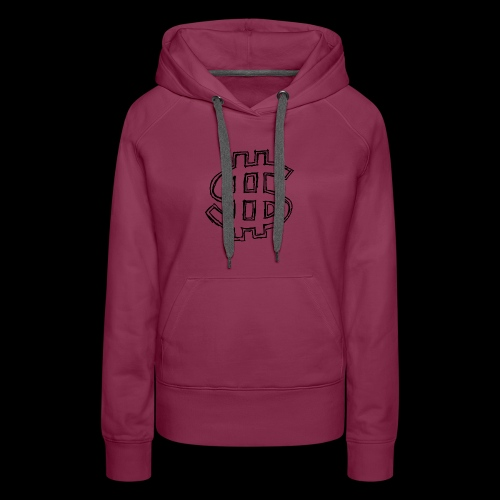 dollar sign drawing 4 - Women's Premium Hoodie