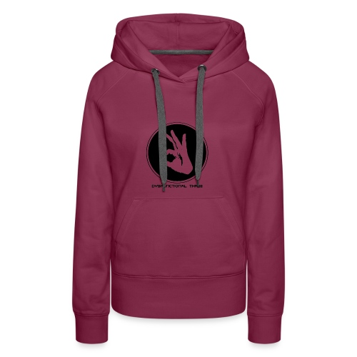 Dysfunctional three LOGO - Women's Premium Hoodie