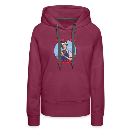 Uncle Odds Fantasy Football Player DFS - Women's Premium Hoodie