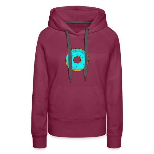 Fresh Threads Donut - Women's Premium Hoodie