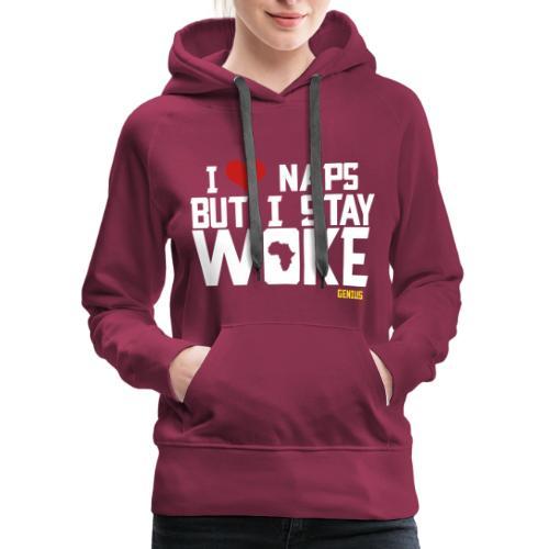 No Naps - Women's Premium Hoodie
