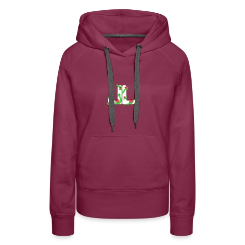 LegitLovely White Logo - Women's Premium Hoodie